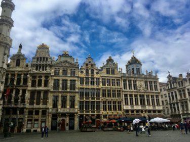 ベルギーのブリュッセルに引っ越しました!